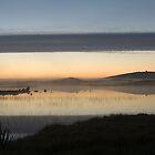 Sunset over Loch nam Magarian by MicksPhotoArt