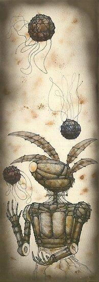 The Juggler by Daniele Lunghini