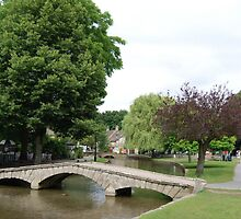 boughton on water cotswolds by Paul Loveday
