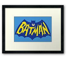 Batman Sheldon Cooper The Big BangTheory Framed Print