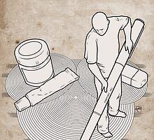 Drawing Zen - Print by Scott Robinson