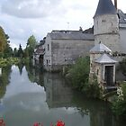 Loches by the river by Simon O'Corra