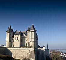 Saumur Chateau by Marc Bowyer-Briggs