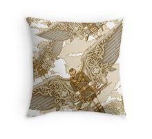 Peregrine Squadron on Maneuvers Throw Pillow