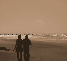Views From The Beach : Shadow Of Our Love... by artisandelimage