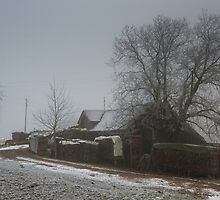 winter farm by peterwey