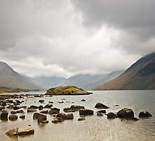 Clouds over Wast Water by Avril Jones