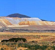 Panorama of Kennicott Copper Mine, Salt Lake City, Utah by John Wilchek