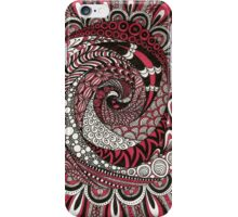 Spiral in the Pink iPhone Case/Skin