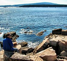 'Chillin' at Schoodic' by Scott Bricker