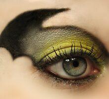 Batman Makeup by Katherine Davis
