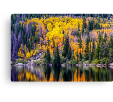 Bear Lake Autumn Canvas Print