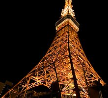 Tokyo Tower from a wideangle prospective  by kennly