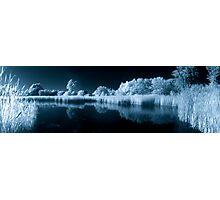 Wetland Pond in IR Photographic Print