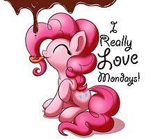 Pinkie Pie Love Mondays! by Bugplayer