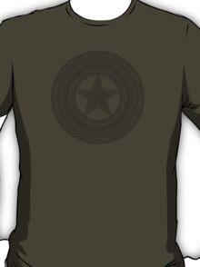 Celtic Captain America Black no fill T-Shirt