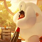 Big Hero 6 - Baymax and Hiro by Poppy Rose  Skillen