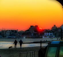 Lyme Regis Sunset by A90Six