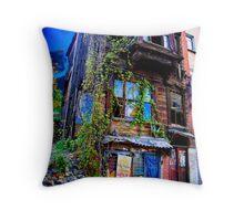 Cafe Cetinkaya - Istanbul Throw Pillow