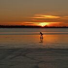 Skating during Sunset by Minne
