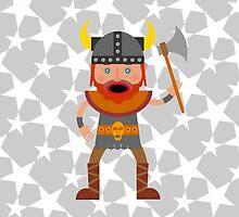 Viking Warrior by MariaFernandes