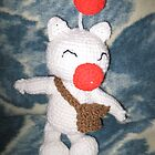 Moogle Crochet Plushie by RoboBarb