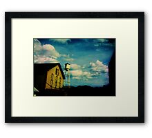 Painting the Sky with the Passage of Time Framed Print
