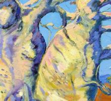 Kimberley Giants, Boab Trees Sticker