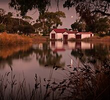 Anglesea River Evening,Great Ocean Road by Darryl Fowler