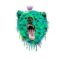 King Bear Photographic Print