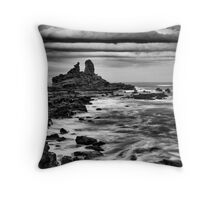 Storm At Eagles Nest Throw Pillow