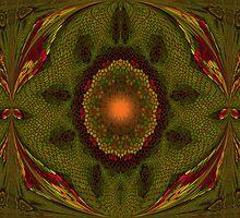Art Nouveau - pattern VII by Martilena