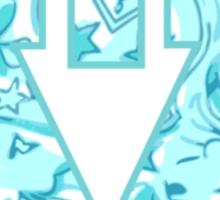 Alpha Delta Pi Virginia Tech Logo Sticker