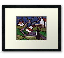South of France Framed Print