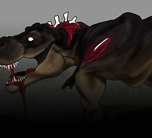 Zombie Rex by LindseyDuce