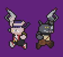 8Bit Bebop and Rocksteady by The World Of Pootermobile