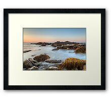 Seascape at Sachuest Point Wildlife Refuge Framed Print