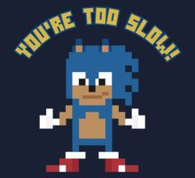 8Bit Sonic by The World Of Pootermobile