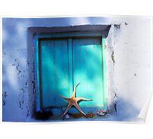 Starfish Window Poster