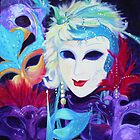 Venetian Carnival Masks by Maureen Whittaker