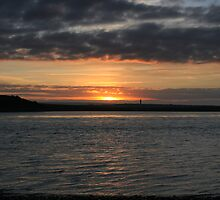 Scattery Island sunset by John Quinn