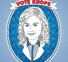 Vote Knope by geeksweetie