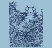 Garden Cat Doodle Kids Clothes