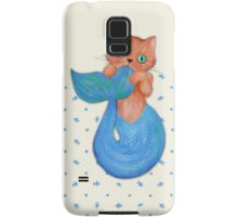 Merkitten Life Lesson #14 - You are NOT your food Samsung Galaxy Case/Skin