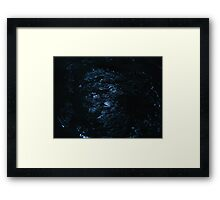 The universe overhead, it shines brightly as if just for us Framed Print