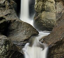 Bolton Potholes - Vertical Panorama by Stephen Beattie