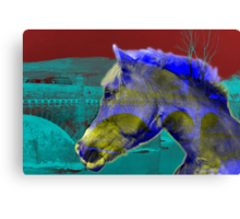 Horse Power - Old and New Canvas Print