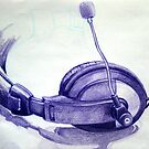 sketch - headset by Jenny -  DESIGN