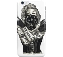 Marilyn Monroe 'Gangstified' iPhone Case/Skin
