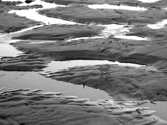 patterns in the sand by jesnowson